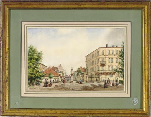 A Dresden street scene