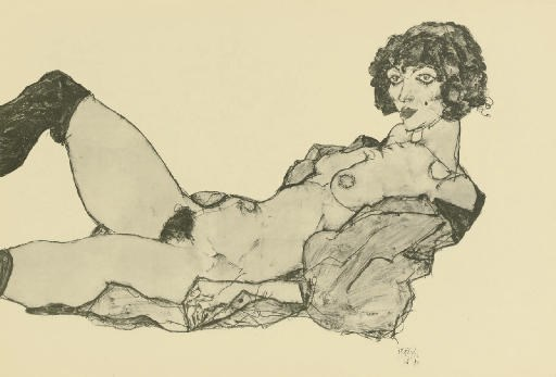 AFTER EGON SCHIELE (1890-1918)