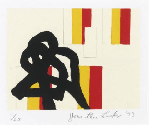 JONATHAN LASKER (B. 1948)