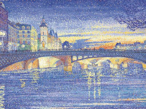 Crépuscule sur Paris