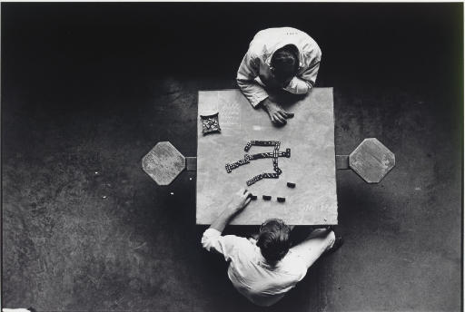 Dominoes, Walls Unit, Huntsville, Texas, 1968
