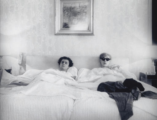 Andy Warhol and Gerard Malanga, 1965
