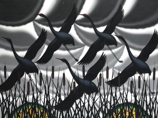 Memory of Sandhill Cranes