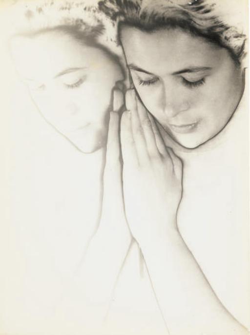 Untitled (Solarized portrait), c. 1933