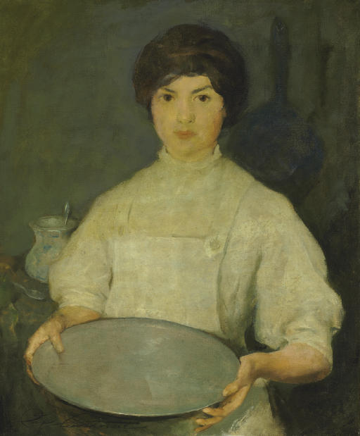 Girl with Pan