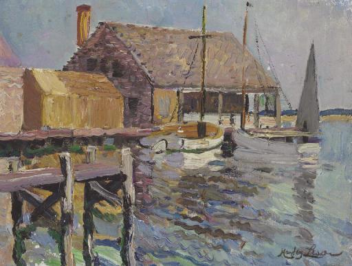 Boat House, Marblehead, Massachusetts