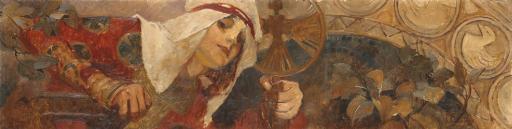 Femme à l'embleme, Winter