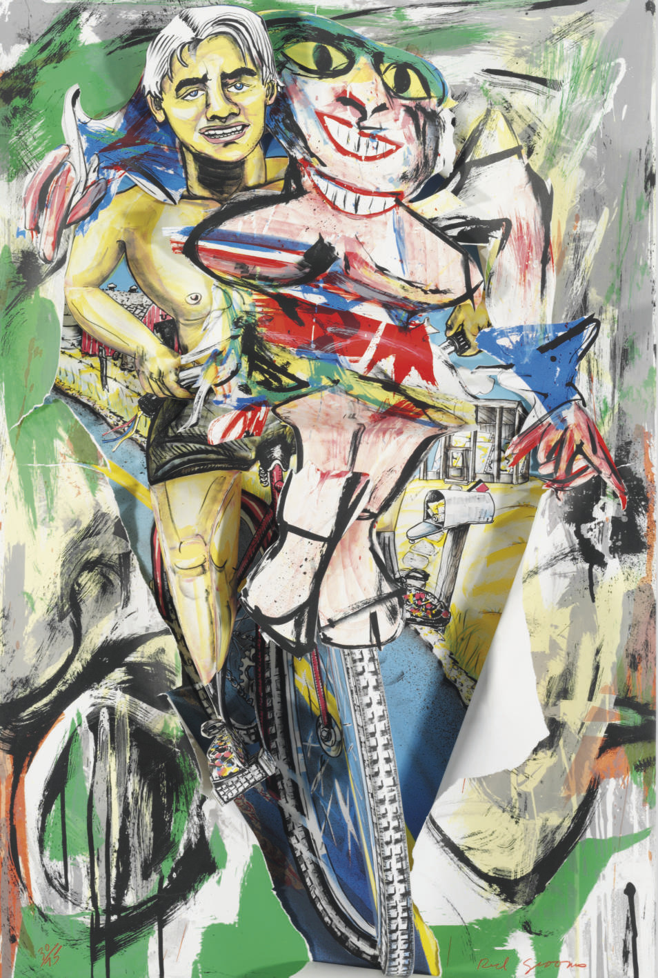 De Kooning Breaks Through (Knestrick 112)