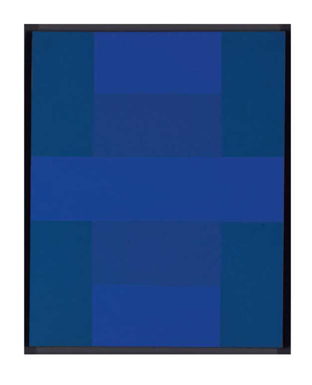 Abstract Painting, Blue, 1953