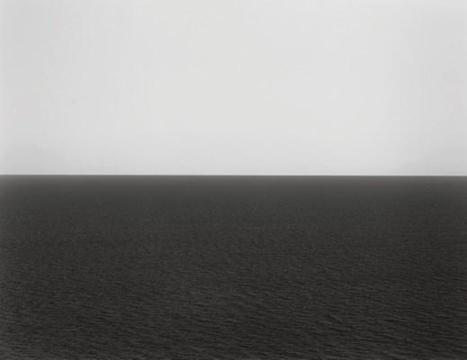 Hiroshi Sugimoto B 1948 English Channel Weston Cliff