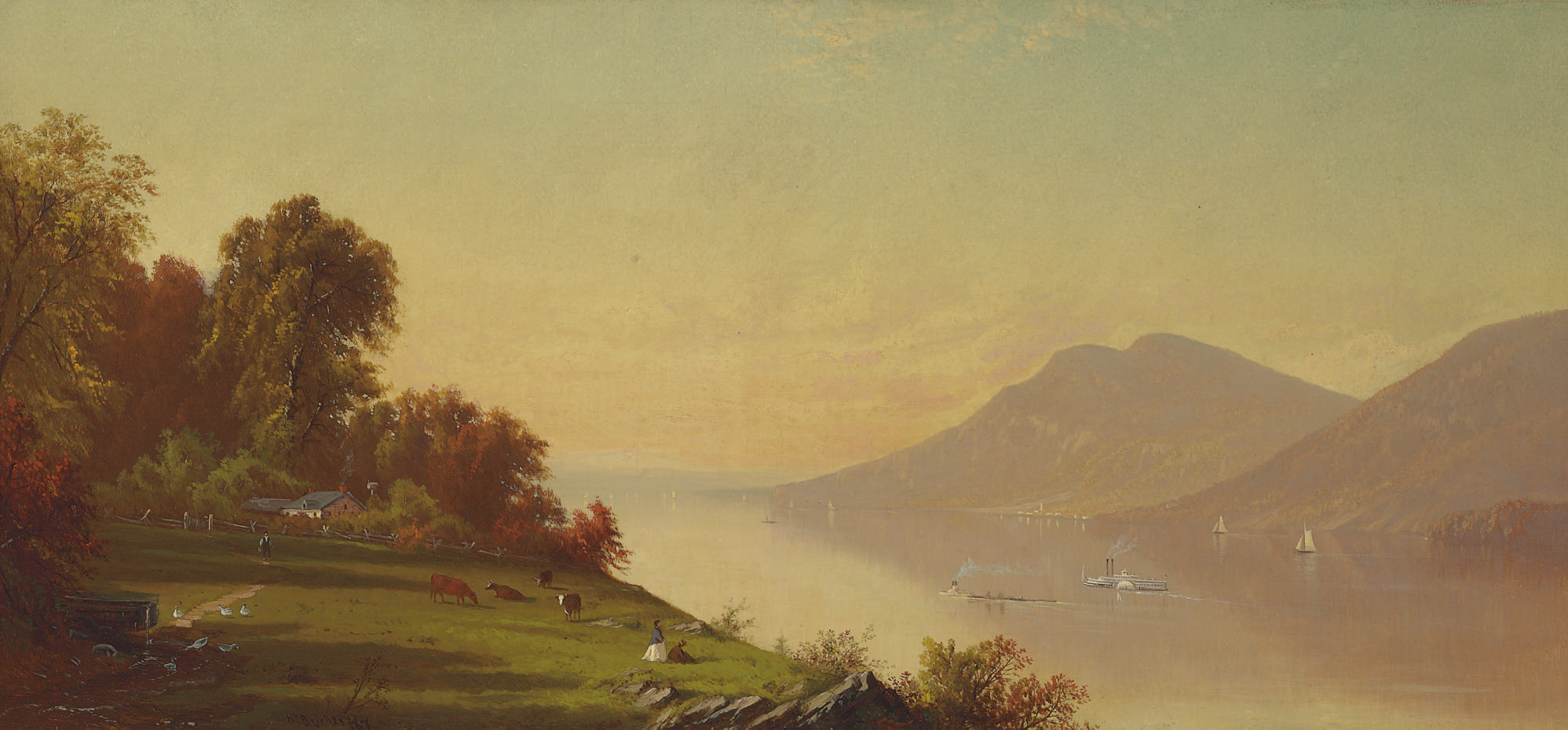 Afternoon on the Hudson