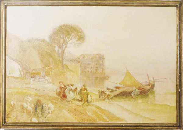 Return from a fishing expedition, Naples