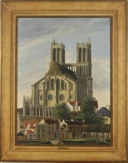 The Cathedral of Mantes