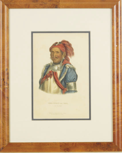 History of the Indian Tribes of North America: Eight Plates