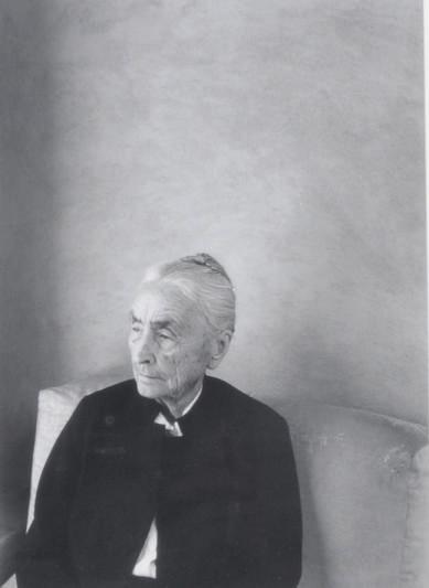 Portrait, Georgia O'Keeffe, 1981
