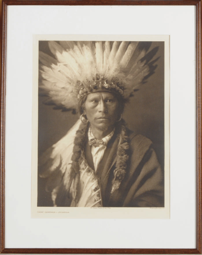 Chief Garfield - Jicarilla, 1904