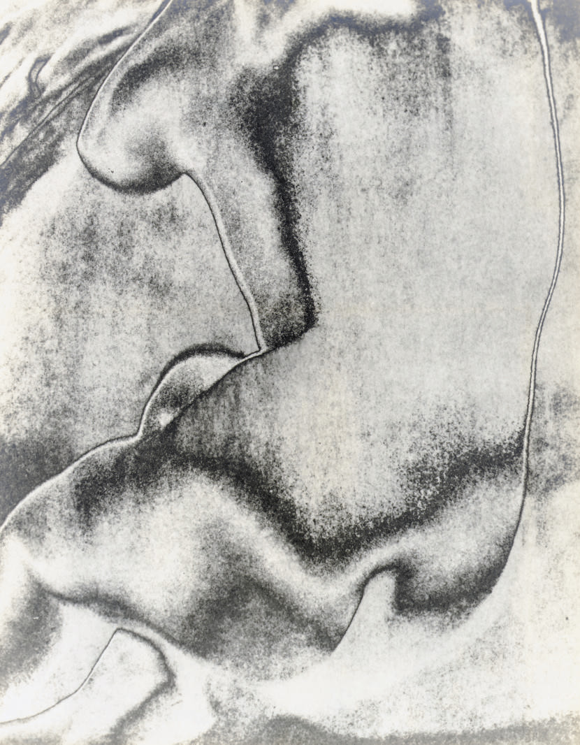 Self-Portrait with Classical Head, 1947; and Solarized Nude, 1938