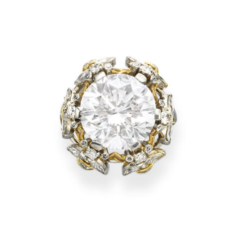 AN IMPORTANT DIAMOND RING, BY JEAN SCHLUMBERGER, TIFFANY & CO.