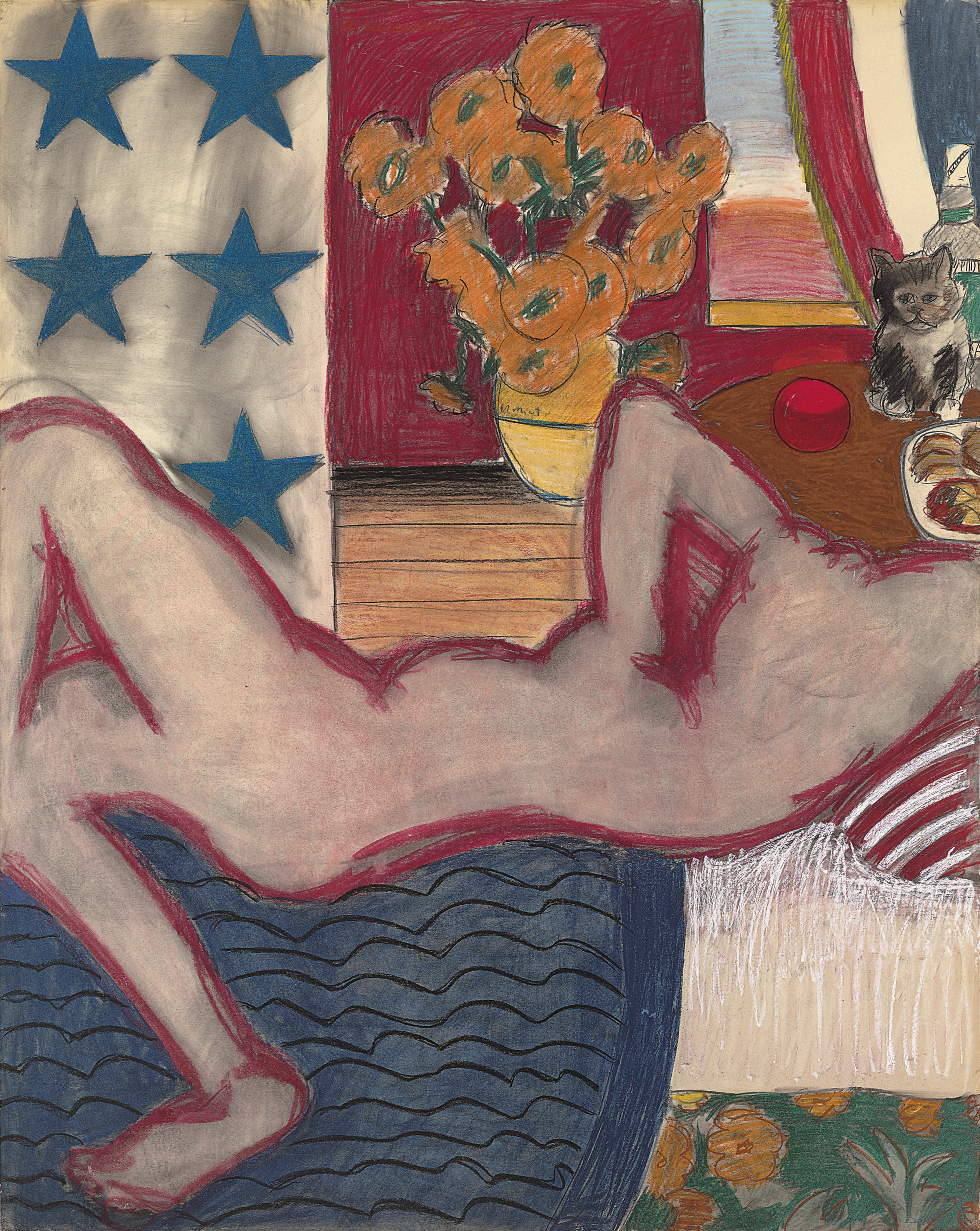 Study for Great American Nude #20