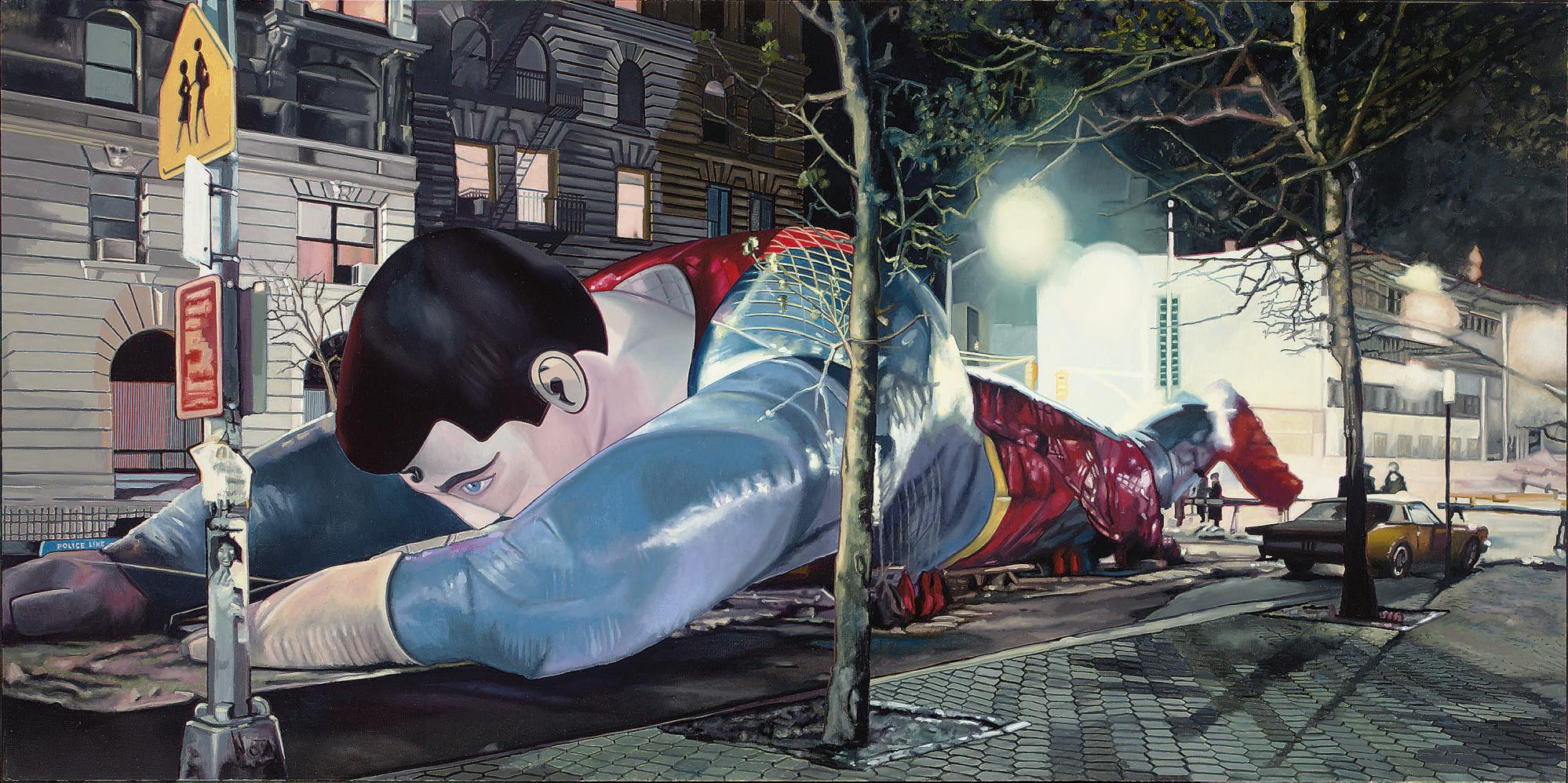 Superman on Lois Lane
