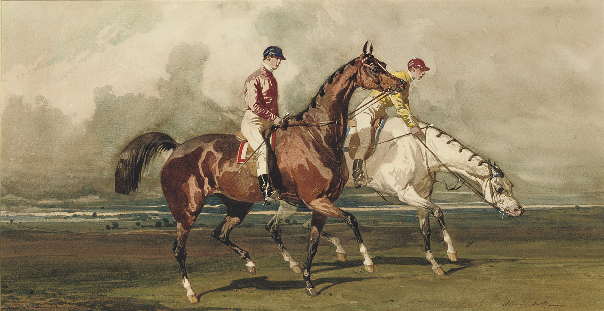The morning gallop