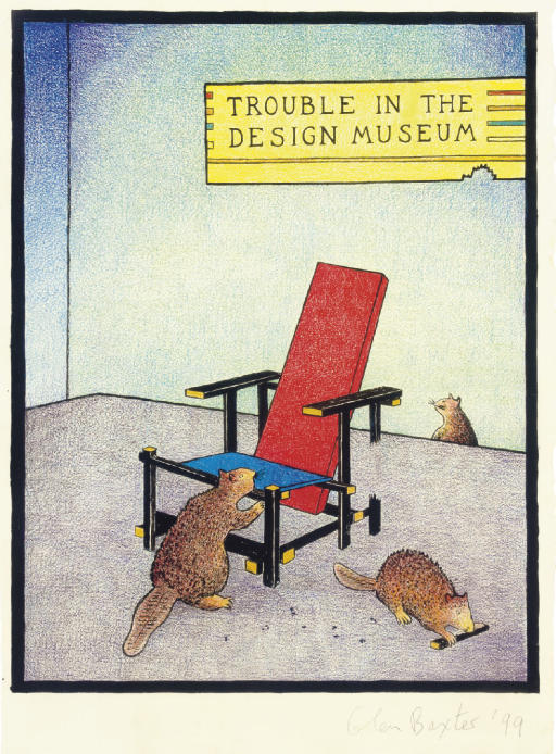 Trouble in the Design Museum