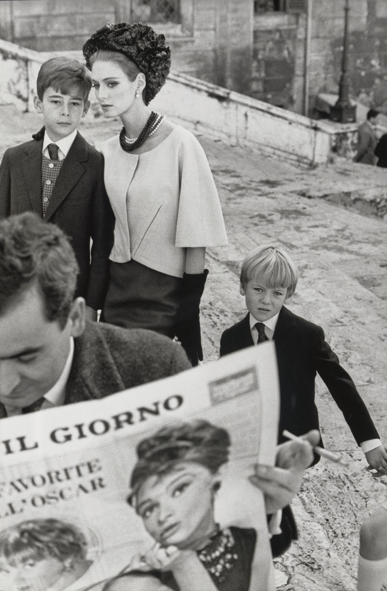 Deborah Dixon, Harper's Bazaar, Rome, 1962