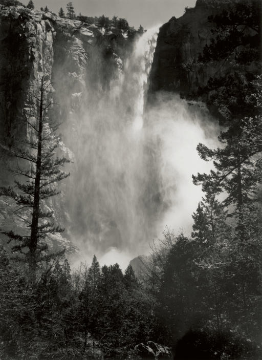 Bridal Veil Fall, Yosemite Valley, 1927