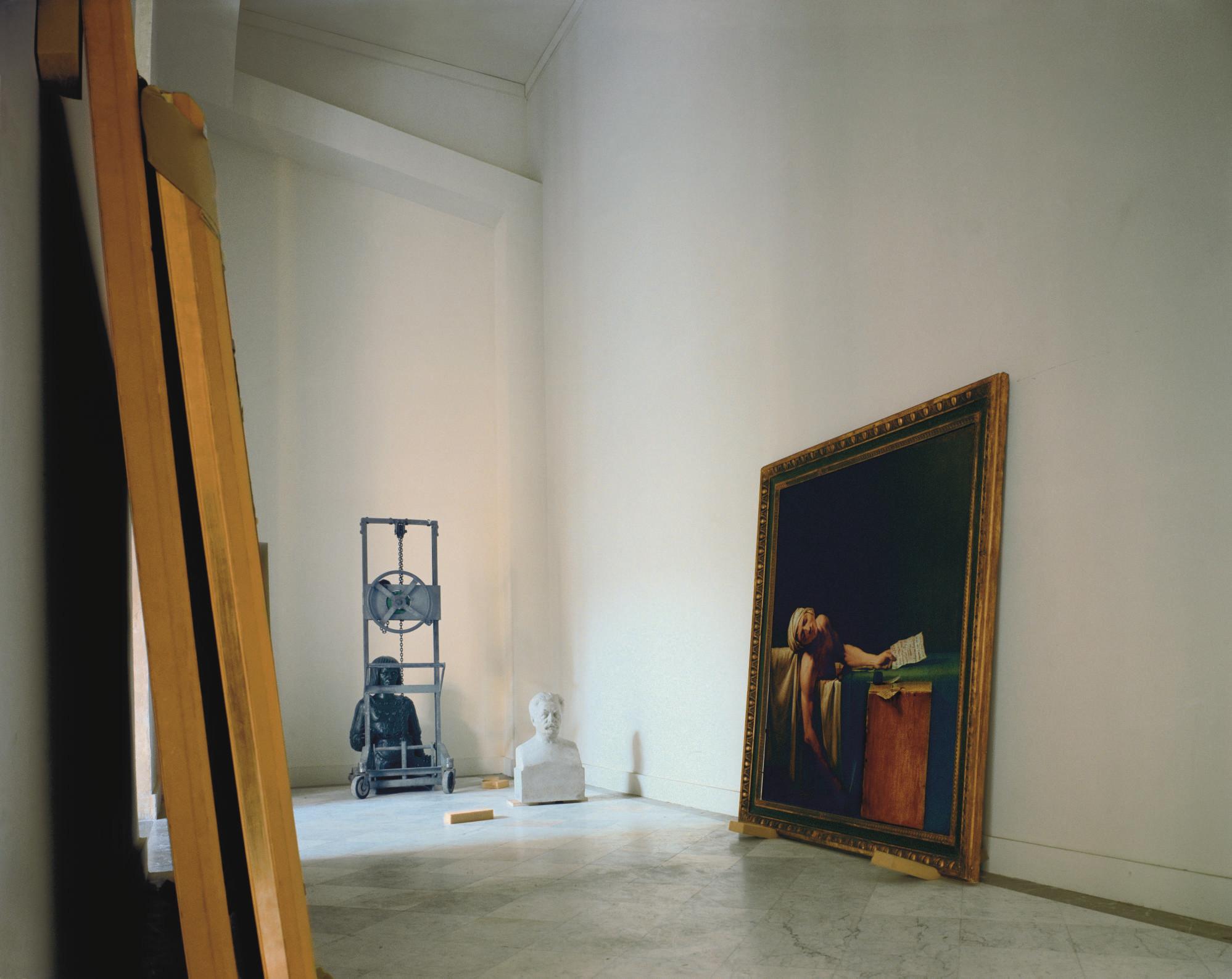 Death of Marat, Rez-de-Chaussée, Château de Versailles, 1985
