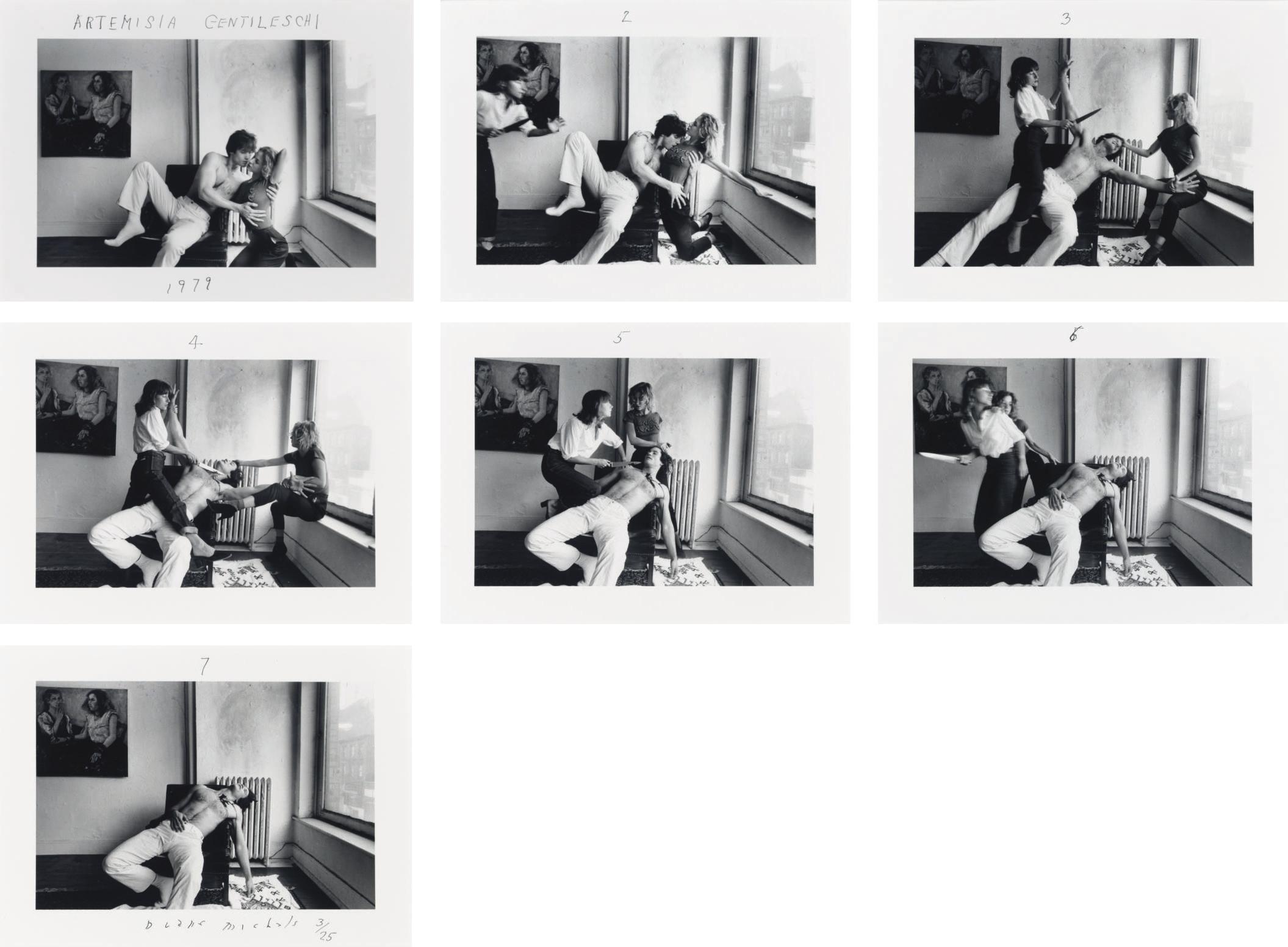 Artemisia Gentileschi, 1979
