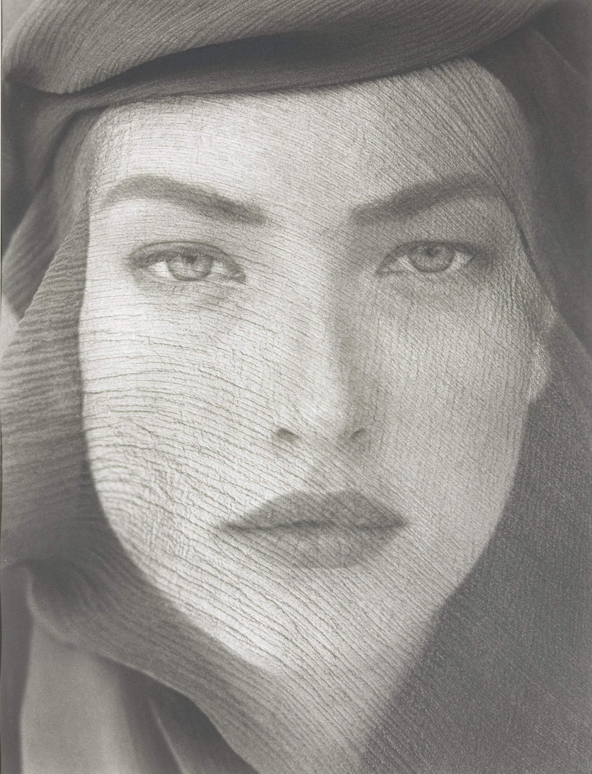 Tatjana Veiled Head, Tight View, Joshua Tree, 1988