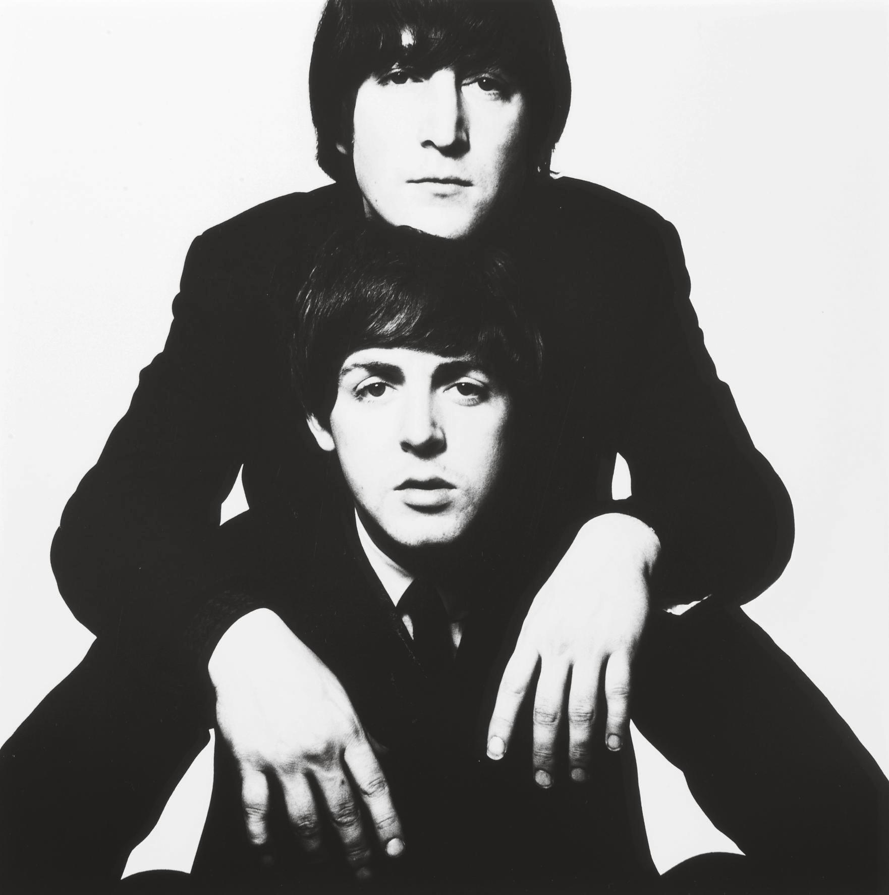 John Lennon and Paul McCartney, January 1965