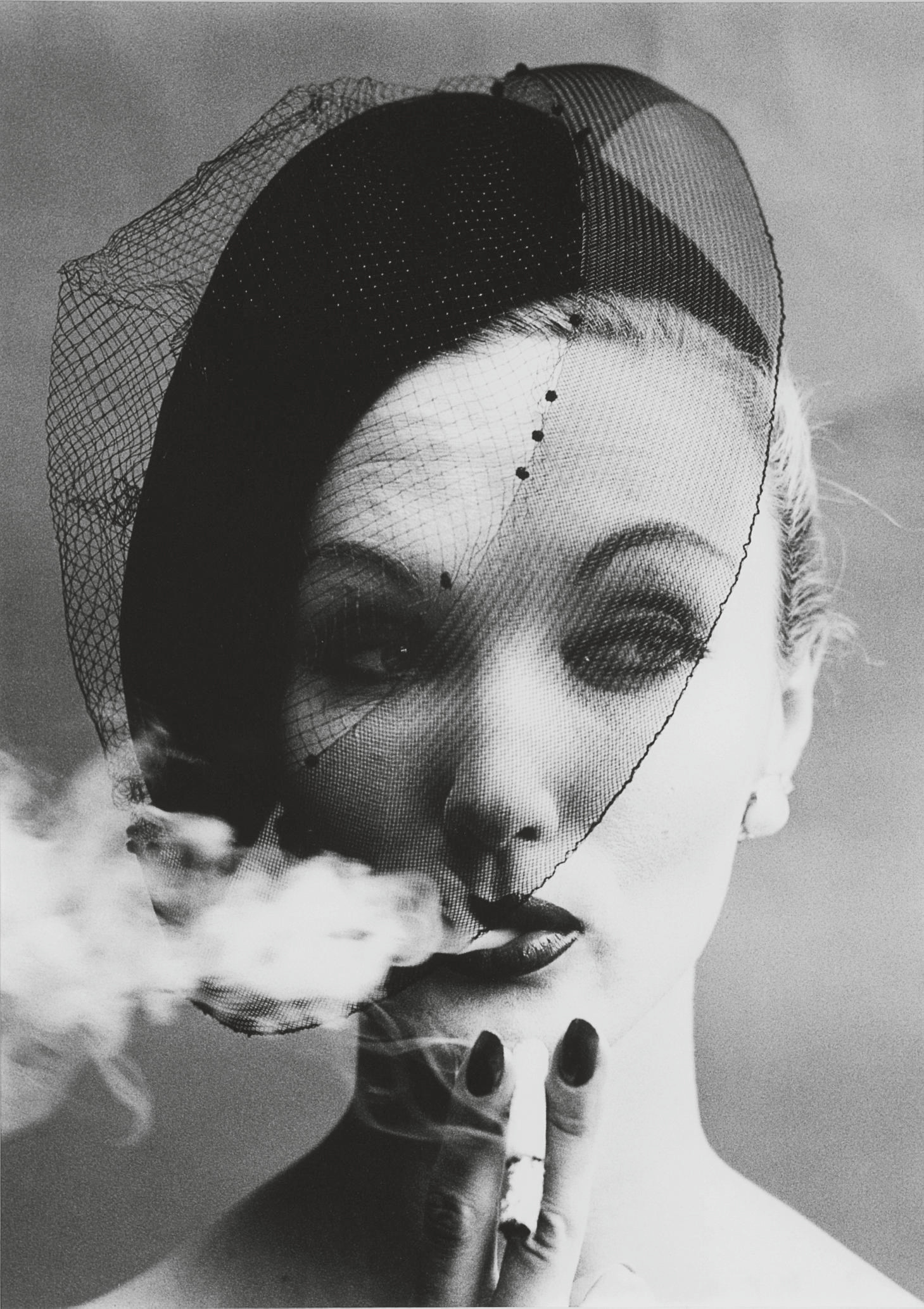 Smoke + Veil, Paris, for Vogue, 1958