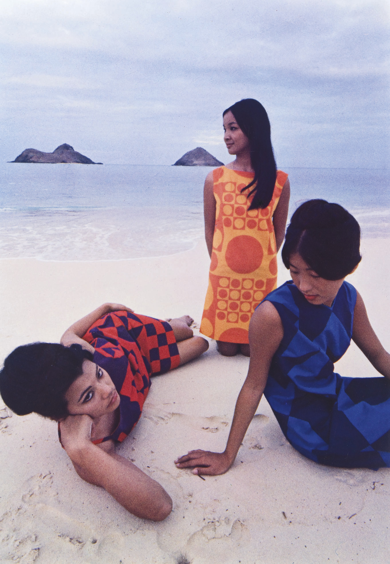 School Girls, Hawaii, Mademoiselle, 1963