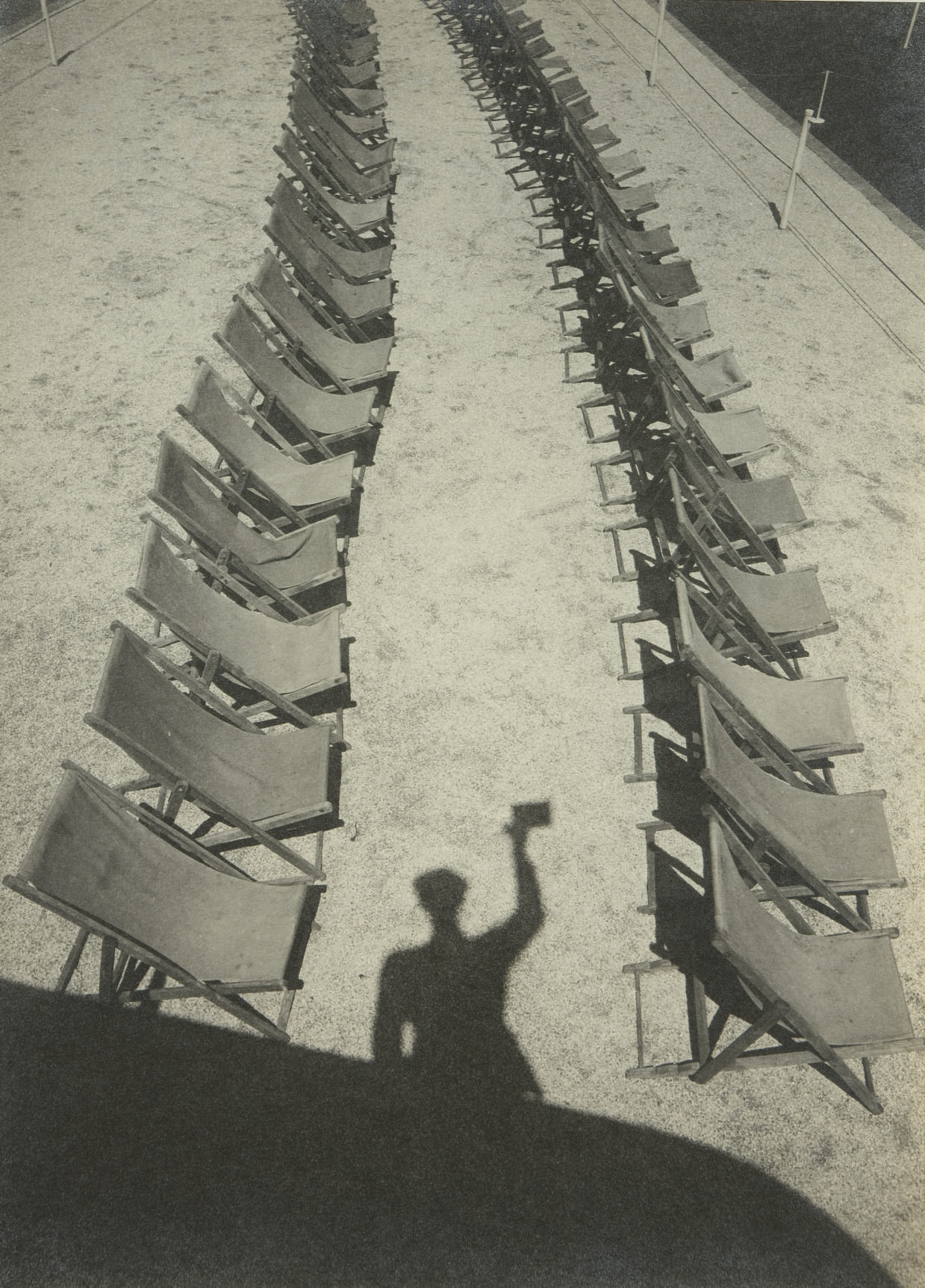 Shadow of Himself for Bystander, 1938