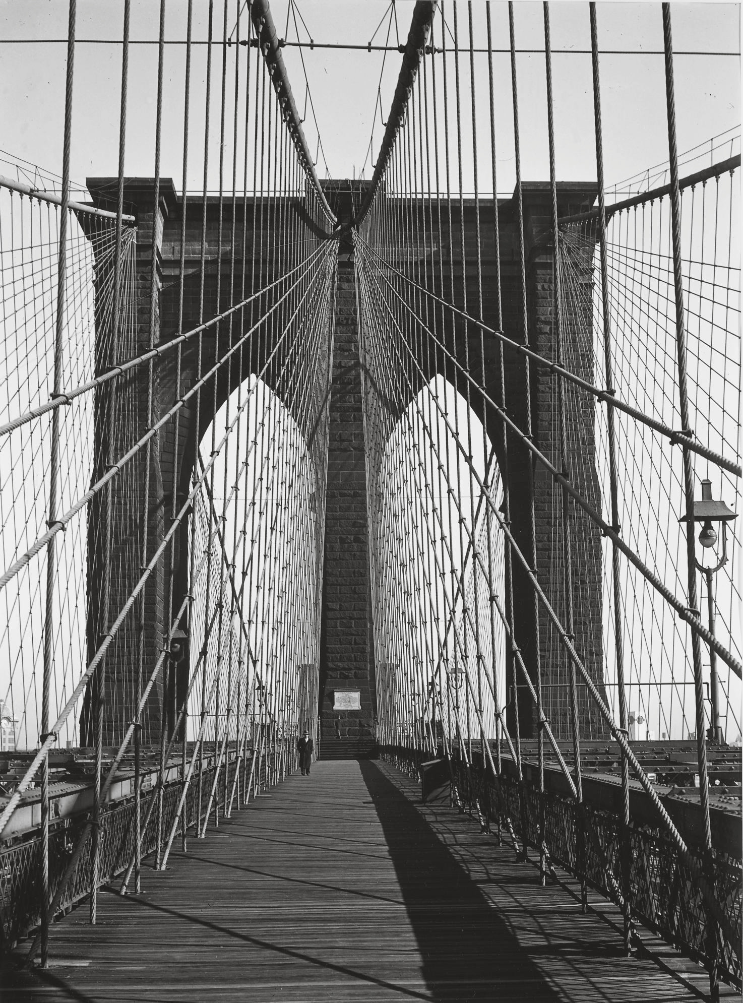 Brooklyn Bridge, New York, 1946