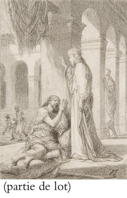 Le Christ guérissant un malade
