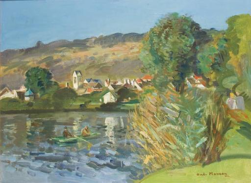 La Marne à Nanteuil