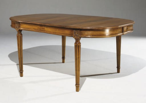 Table de salle a manger de style louis xvi christie 39 s for Table salle a manger 2m50