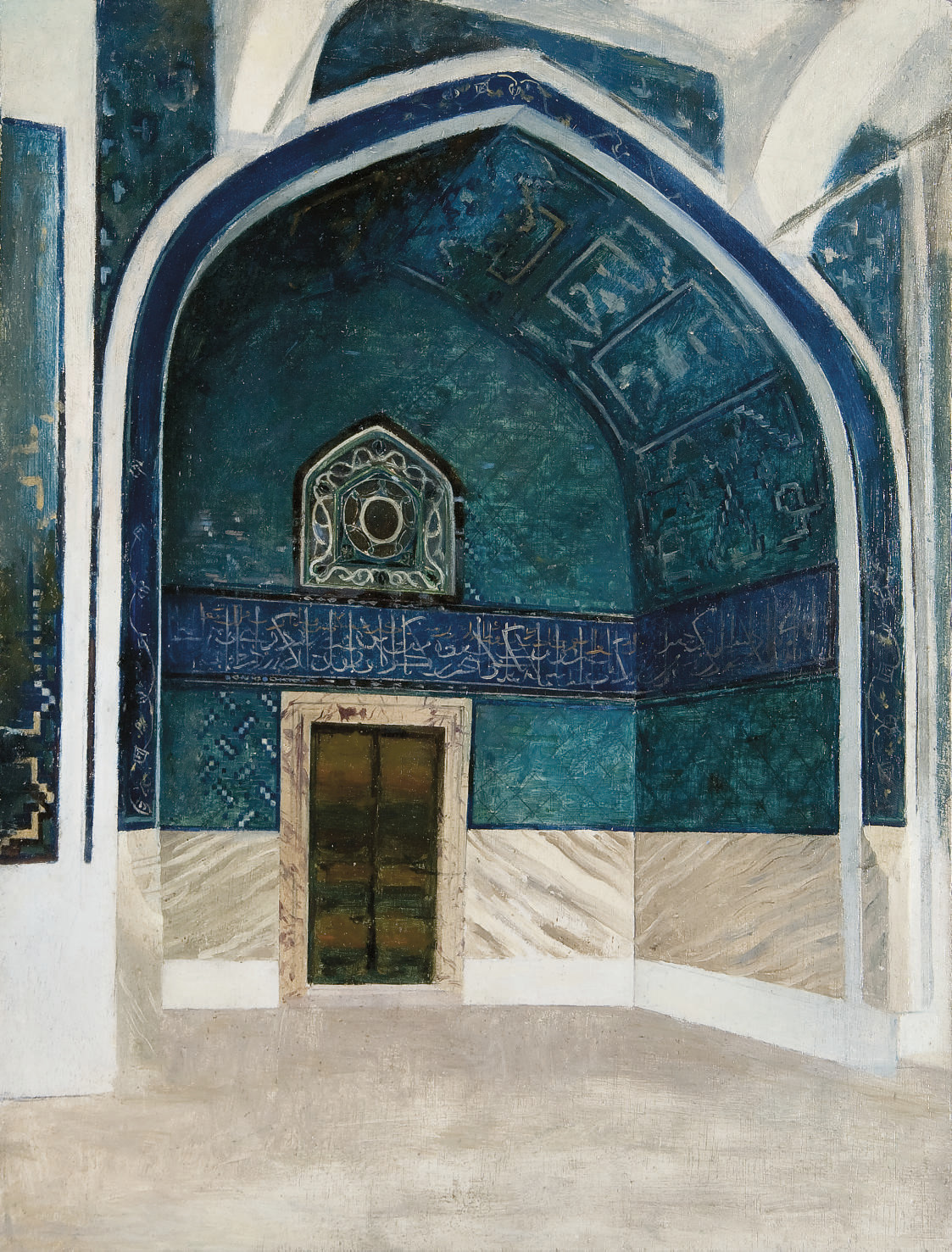 Le Kiosque Cinli au palais de Topkapi