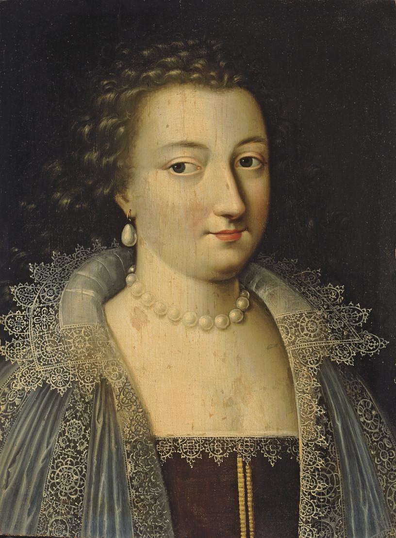 Portrait présumé de Marie de Rohan-Montbazon, duchesse de Luynes puis de Chevreuse