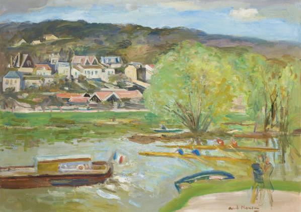 Bord de Seine à La Ferté