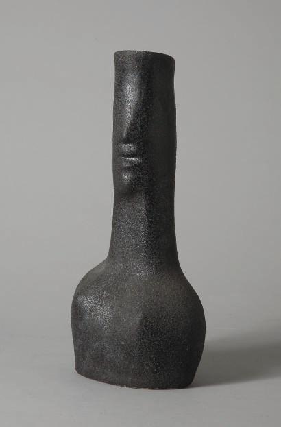 Gilbert Valentin (1928-2000), Vase anthropomorphe, circa 1950-1963. Sold for €3,750 on 1-2 October 2008  at Christie's in Paris