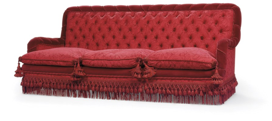 canape de style napoleon iii christie 39 s. Black Bedroom Furniture Sets. Home Design Ideas