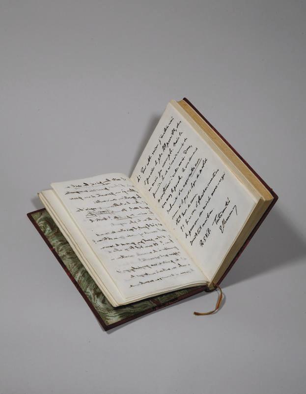 CLEMENCEAU, Georges (1841-1929). Nobles vies - Grandes oeuvres : Claude Monet. Les Nymphéas. Paris: Plon, 1928.