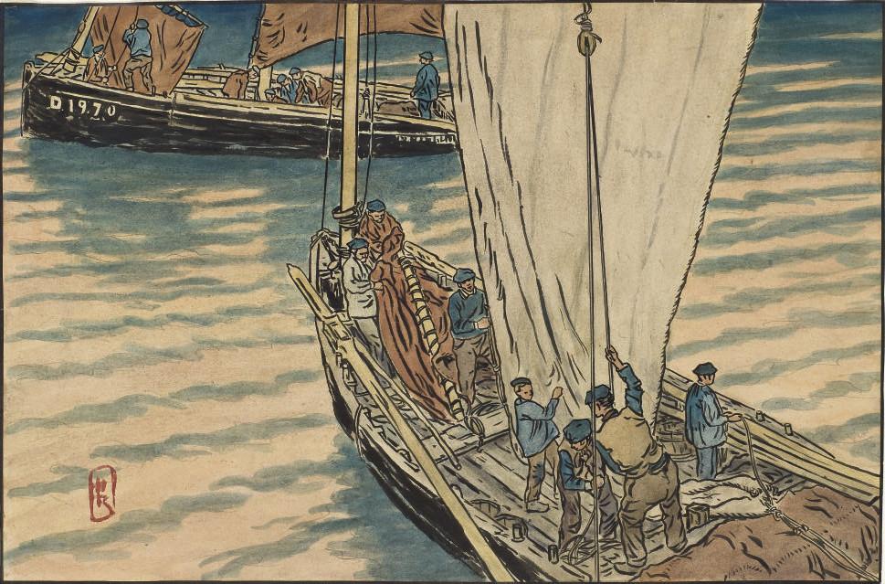 Pêcheurs bretons