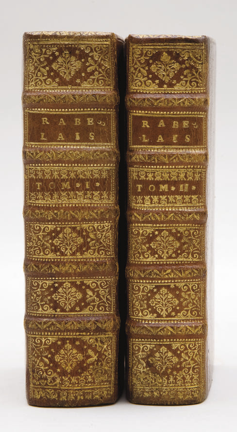 RABELAIS, François (1494?-1553). Les Oeuvres. Augmentées de la vie de l'auteur & de quelques remarques sur sa vie & sur l'histoire. [Amsterdam:] Elzevier, 1663.