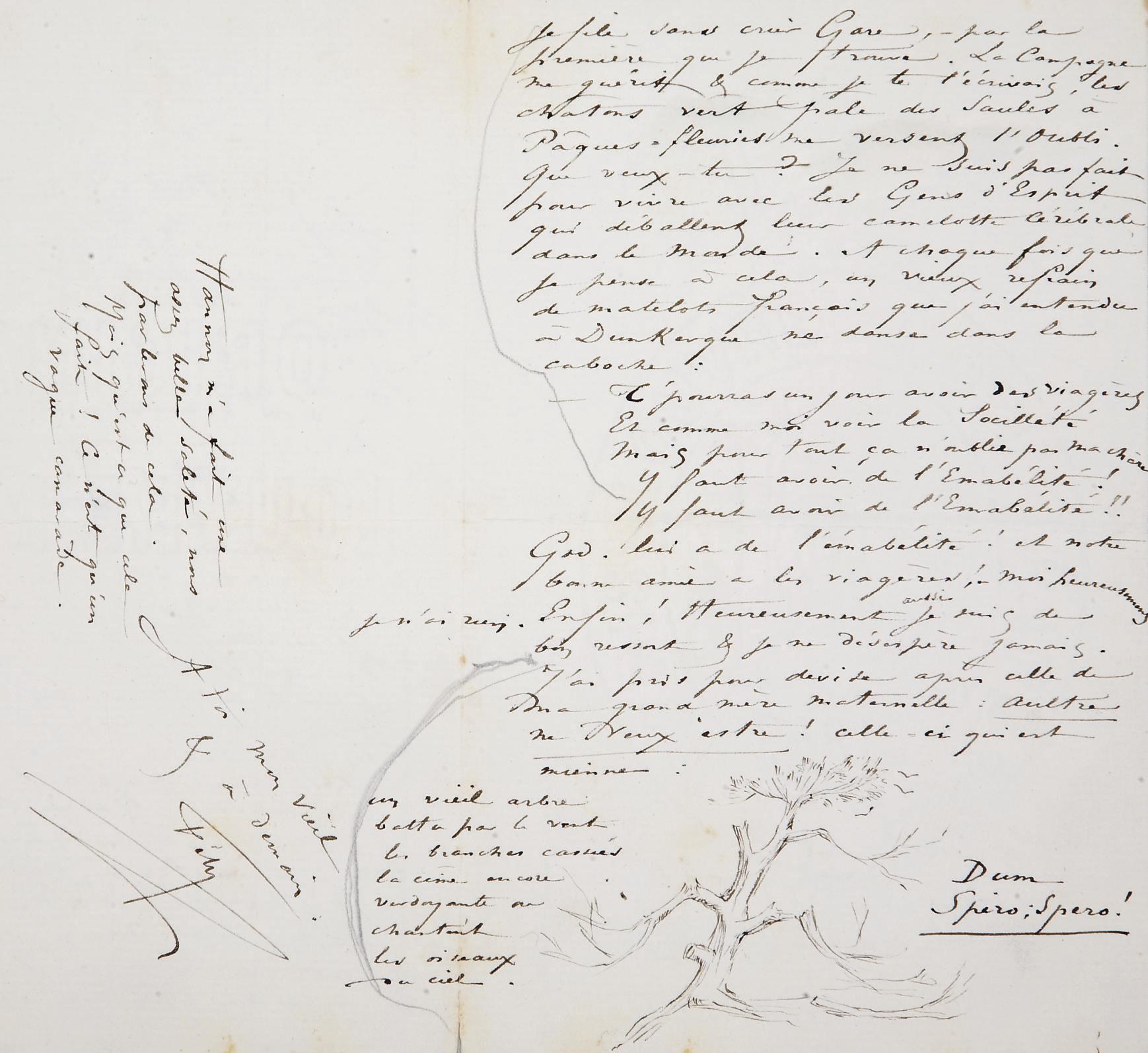 ROPS, Félicien (1833-1898). Réunion de 16 lettres, dont 13 autographes, la plupart signées Fély (2, 3 ou 4 pages in-12 sur un feuillet plié), 2 télégrammes et une carte-télégramme. Entre 1881-1893.