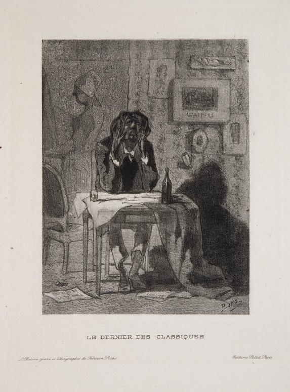 [ROPS] -- EXSTEENS, Maurice. L'Oeuvre gravé et lithographié de Félicien Rops. Paris: Pellet, 1928.