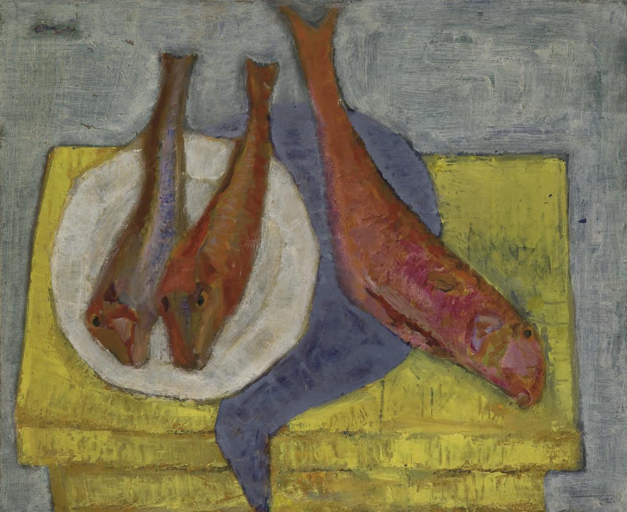 Still Life with Three Fish